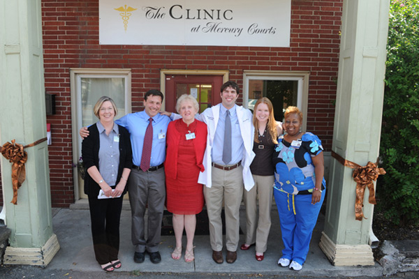 Grant boosts VUSN's Clinic at Mercury Courts