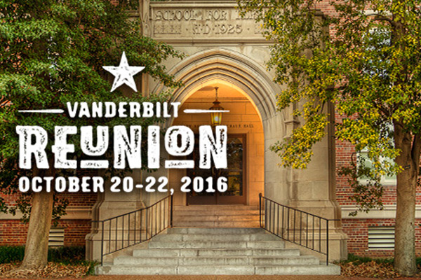 Vanderbilt School of Nursing Reunion: October 20–22