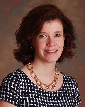Posed headshot of Sharon Karp