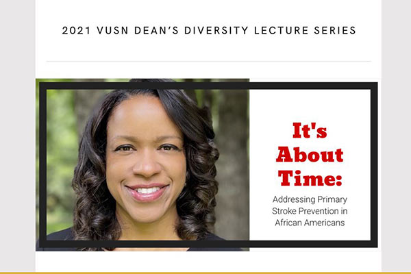 African Americans and stroke focus of August 26 Dean's Diversity Lecture